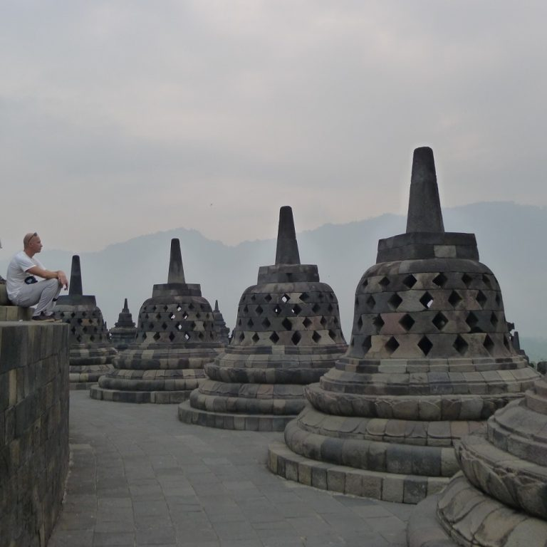 Steingebilde Brodobudur - Indonesien