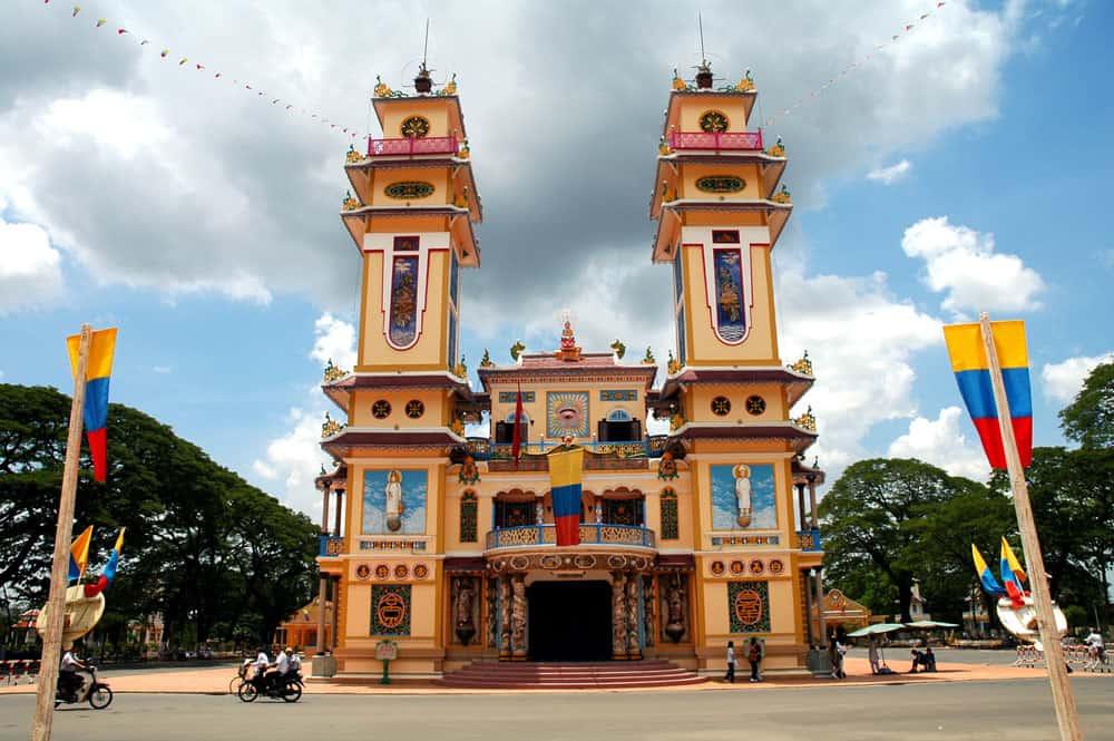 Vietnam - Cao Dai - Tempel in Tay Ninh