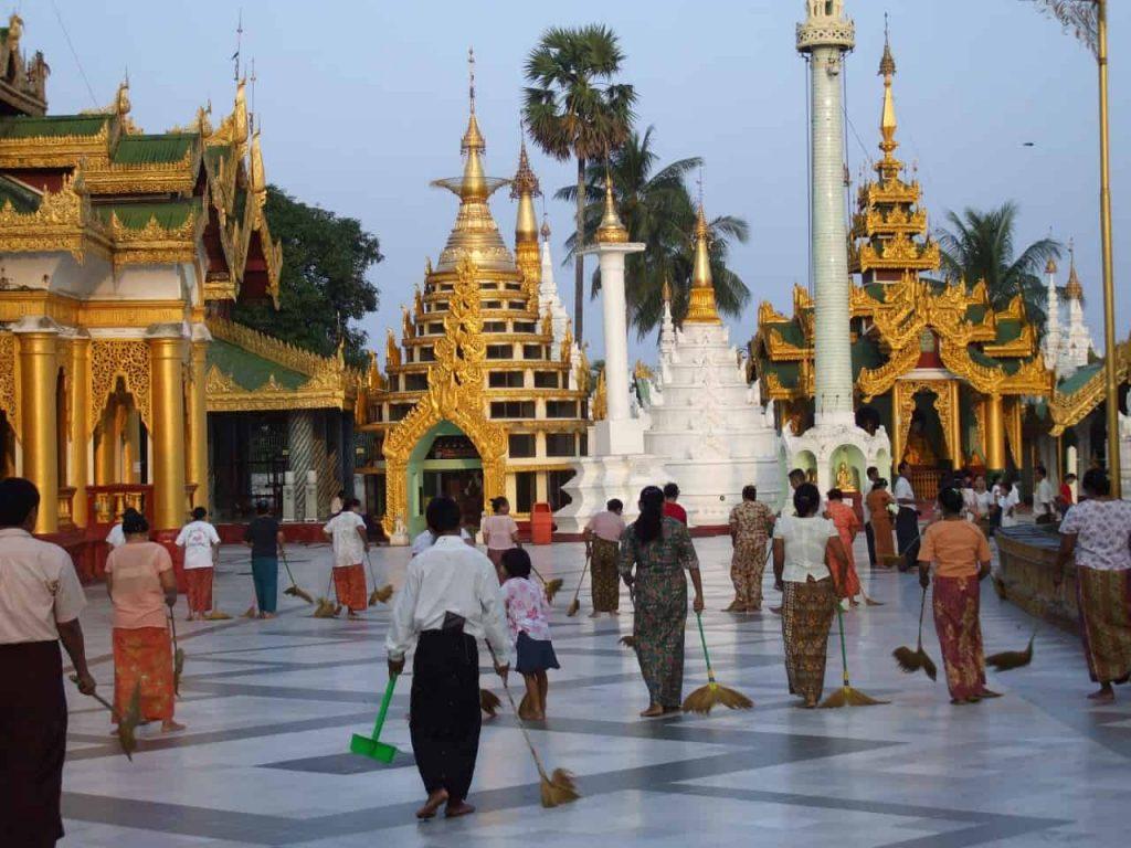 Myanmar - Yangon - Shwedagon Pagode