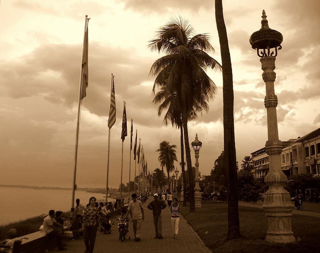 Phnom Penh - Flussufer