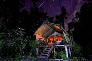 Glamping in Australien - Paperbark Camp