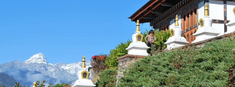 Bhutan - schöne Aussicht