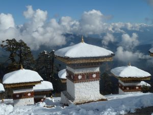 Stupa im Winter