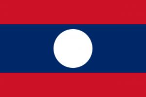 Laos - Flagge Laos