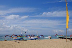 Indonesien - Strand bei Sanur auf Bali