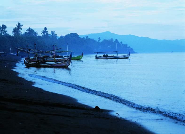 Indonesien - Strand Lovina auf Bali