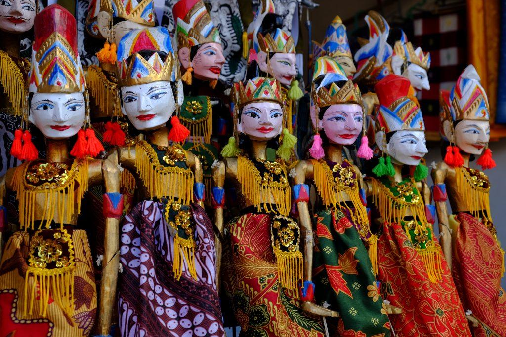 Bali Puppen