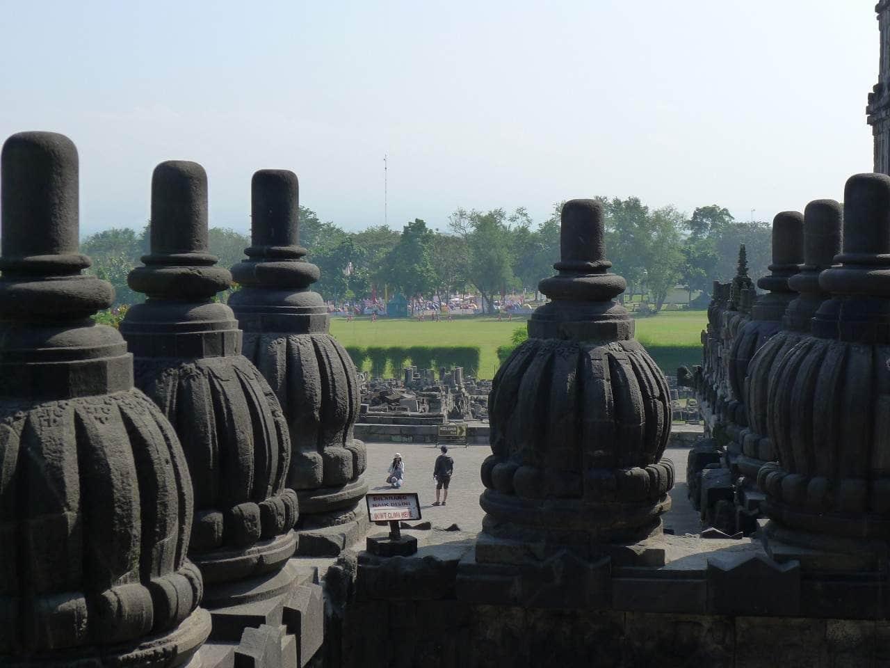 Indonesien - Borobudur Tempel bei Yogyakarta
