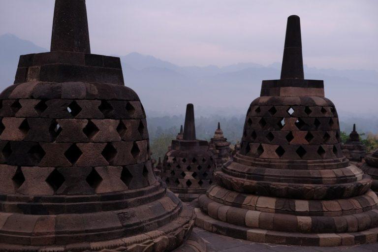Borobudur Sonnenaufgang