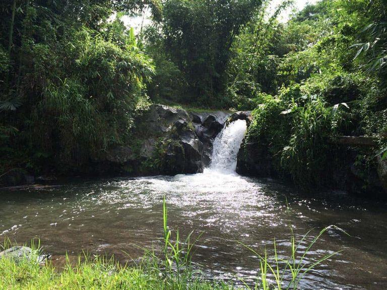 Indonesien Lombok Wasserfall