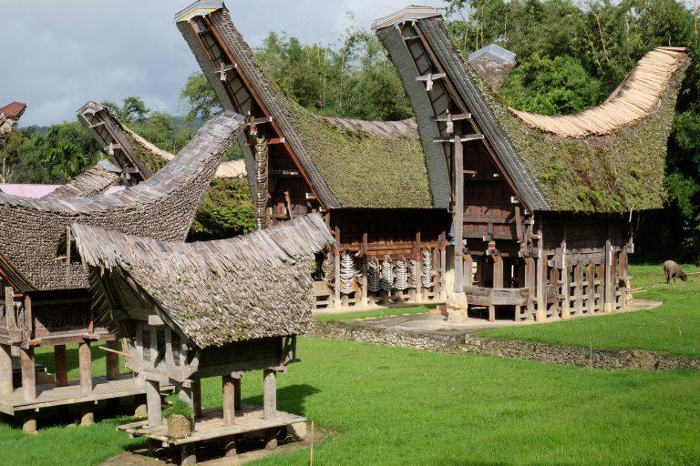 Sulawesi Häuser