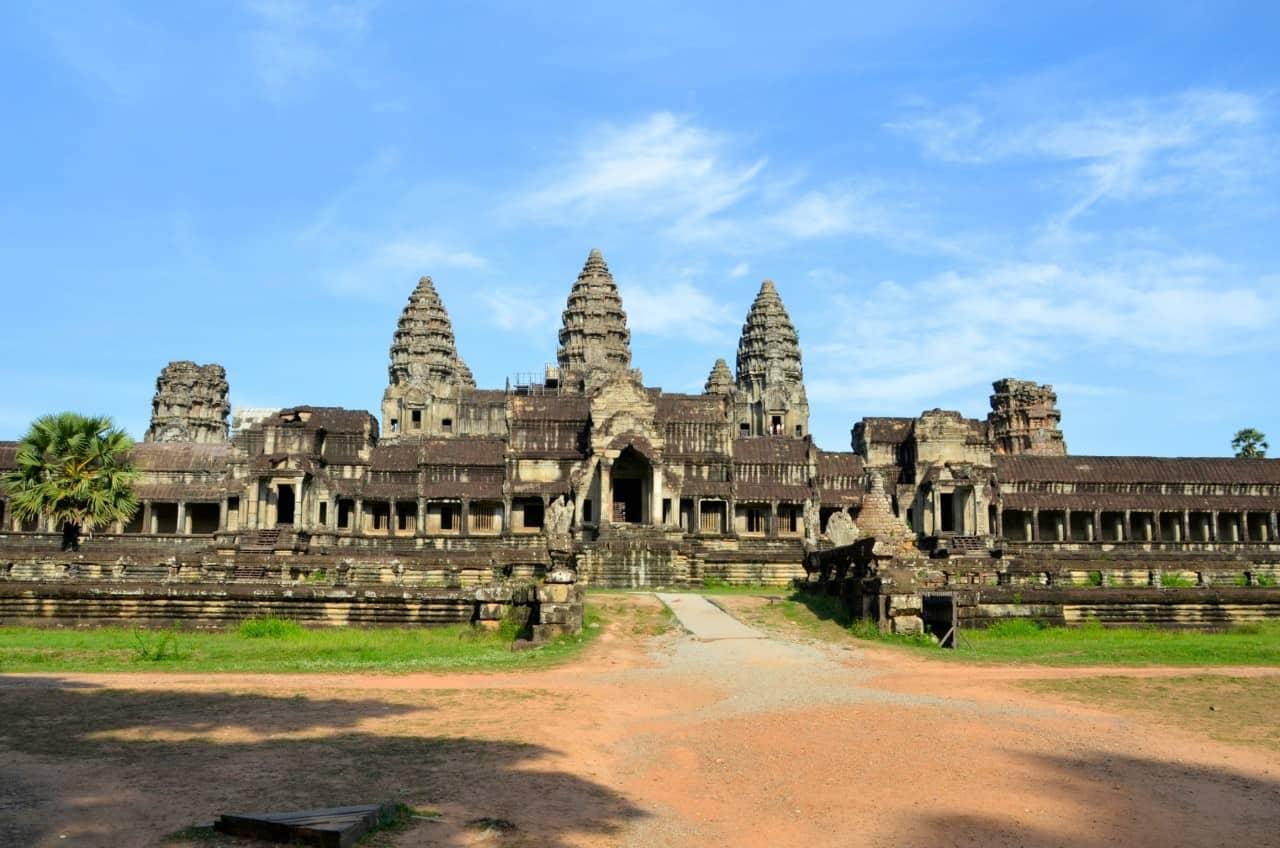 Angkor wat front - Kambodscha