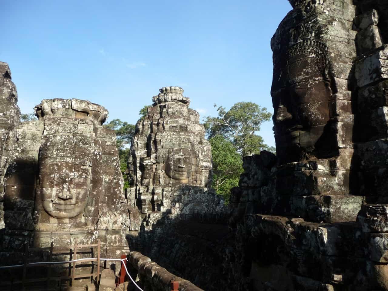 Kambodscha - Angkor - Bayon Tempel