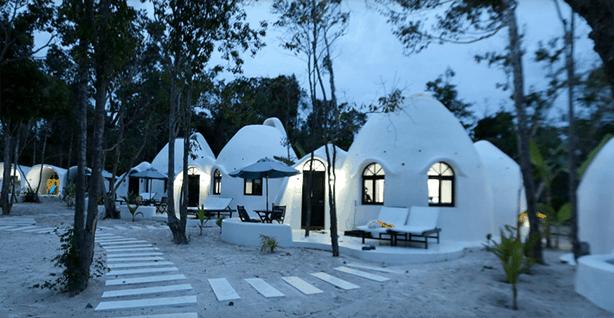 Kambodscha -Koh Rong Sanloem - Moonlight Resort