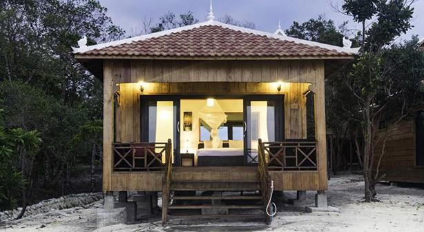 Kambodscha - Koh Rong Sanloem - Sol Beach Resort - Bungalow