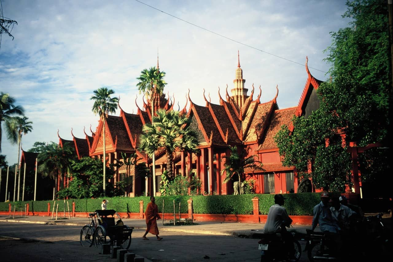 National Museum Phnom Penh - Kambodscha