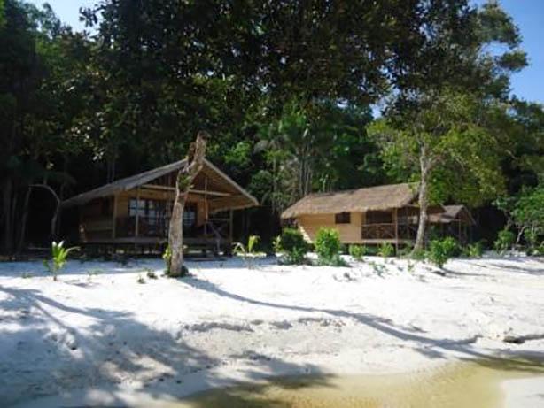 Kambodscha - Saracenbay Resort - Strand