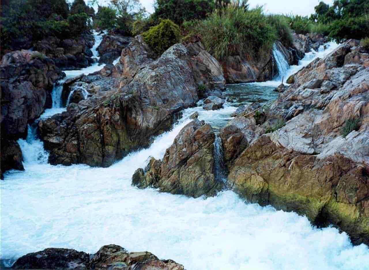 Wasserfall auf Don Khone
