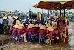 Vietnam - Markt im Mekong Delta