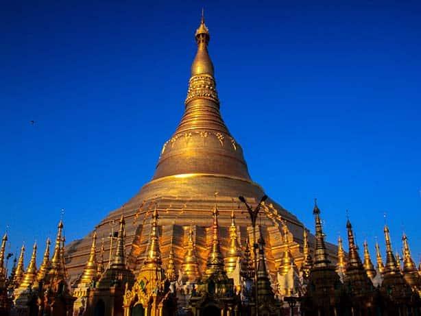 Myanmar - Yanghon Shwedagon Pagode