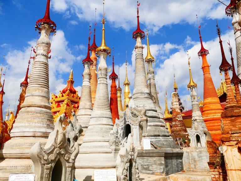 Inle See Stupas
