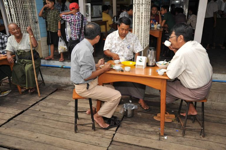 Myanmar Teehaus