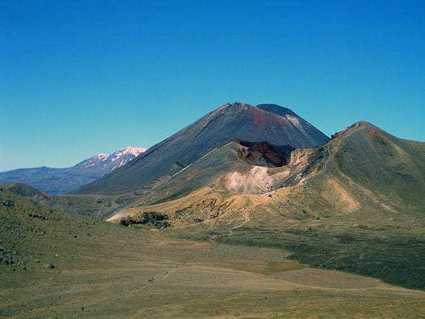 Mount Tongariro, Mount Ngauruhoe und Mount Ruapehu