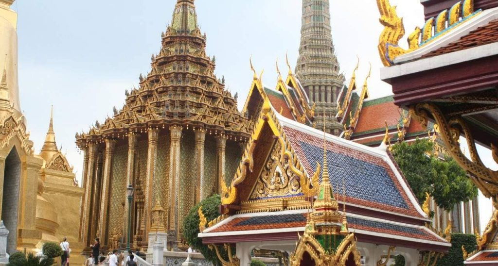 Bangkok großer Palast