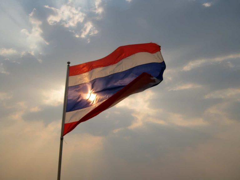 Thailand-Nationalflagge - Thailand
