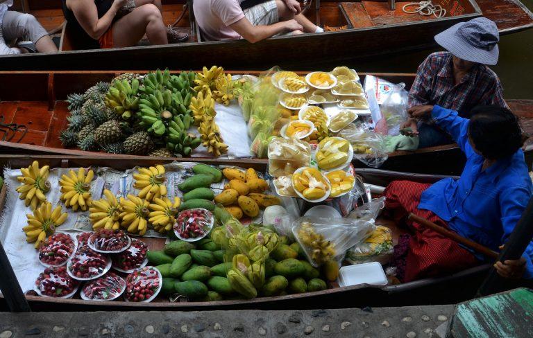 Thailand Schwimmender Markt