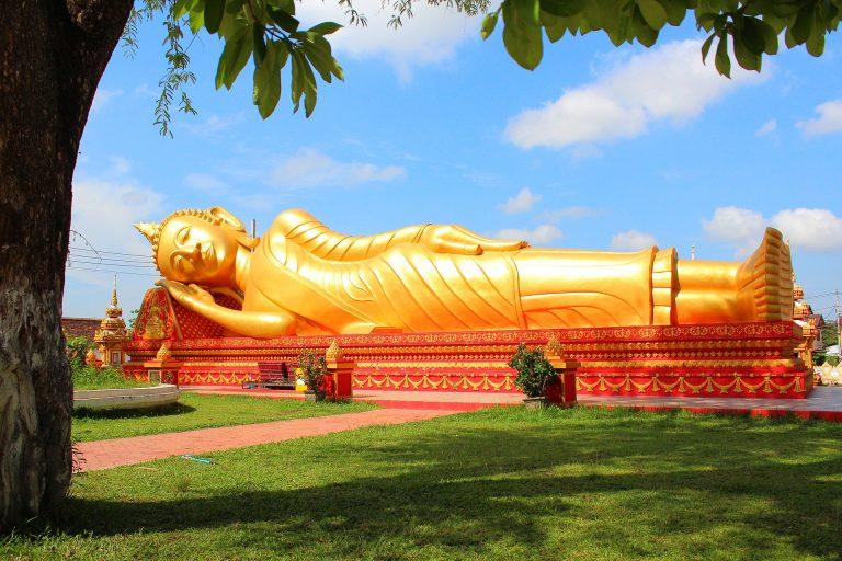 Vientiane Liegender Buddha