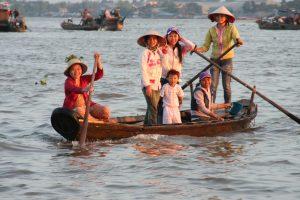 Mekong Delta Familie