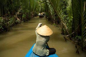 Vietnam Mekong Delta Seitenkanal