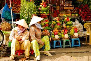 Vietnam - Mekong Delta - Verkäuferinnen