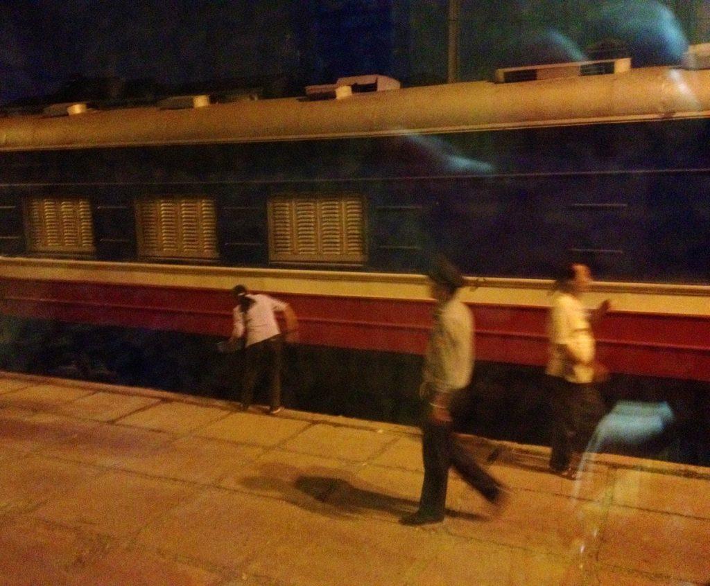 Vietnam - Zug von Hanoi nach Sapa