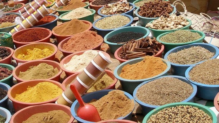 Vietnam Gewürze Markt