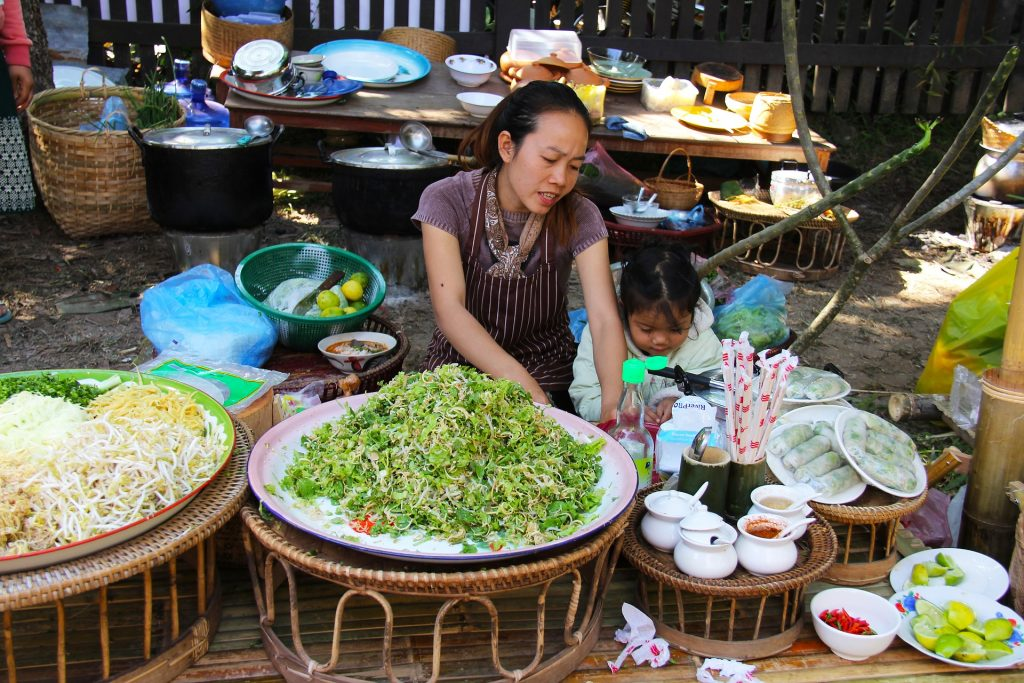 Laos Markt