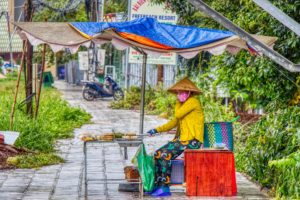 vietnamsischer Streetfood Stand