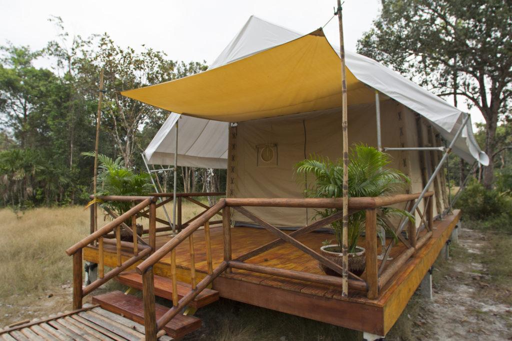 Cardamom Tent