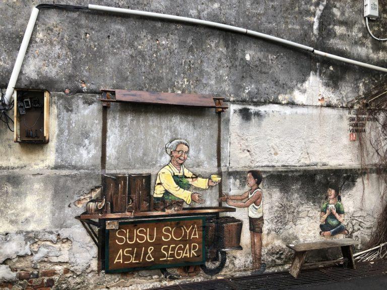 Penang Streetart Streetfood