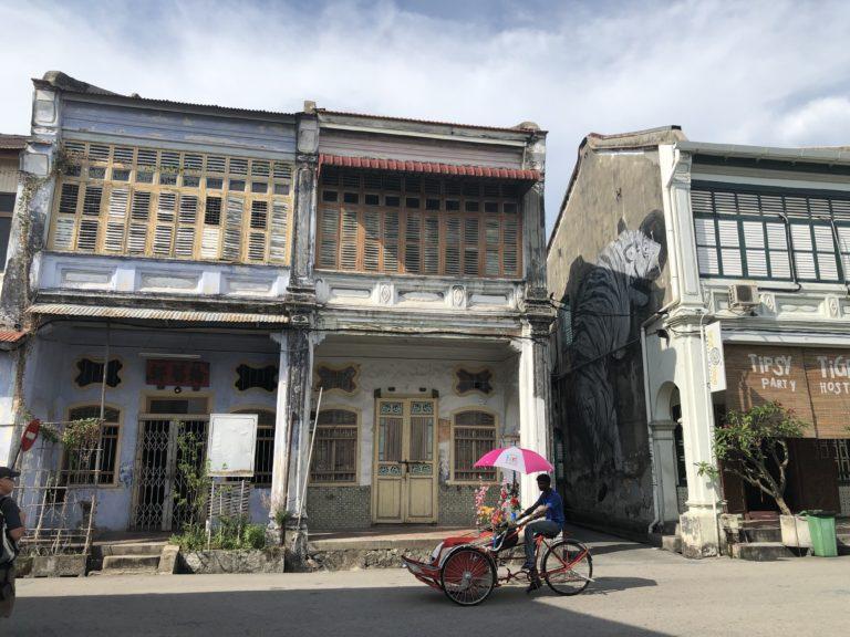 Penang Streetart Tiger