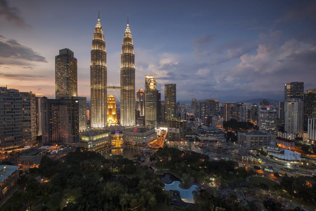 Malaysia Kuala Lumpur Twin Tower