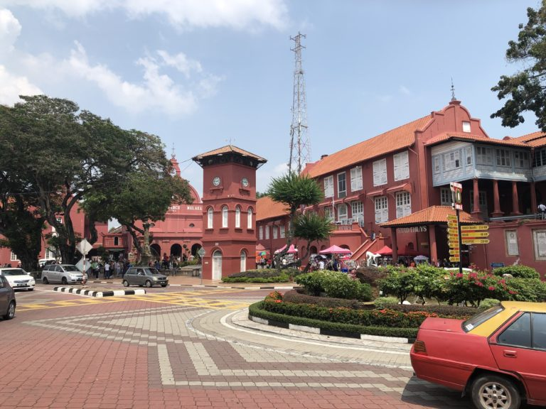 Malaysia Melaka Stadt