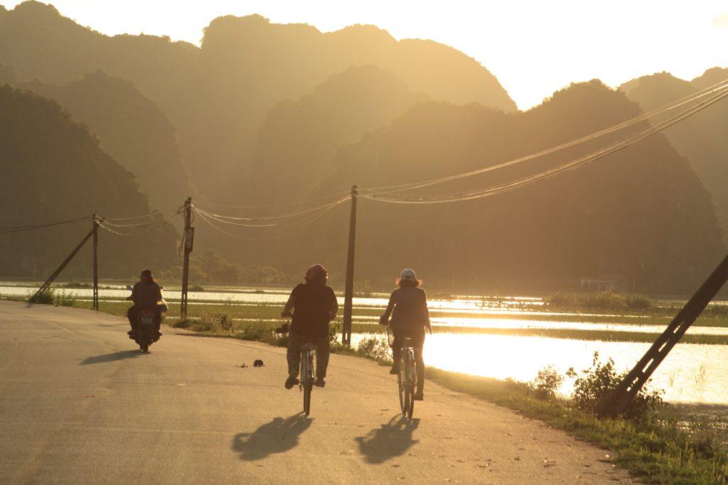 Trang An Fahrradtour