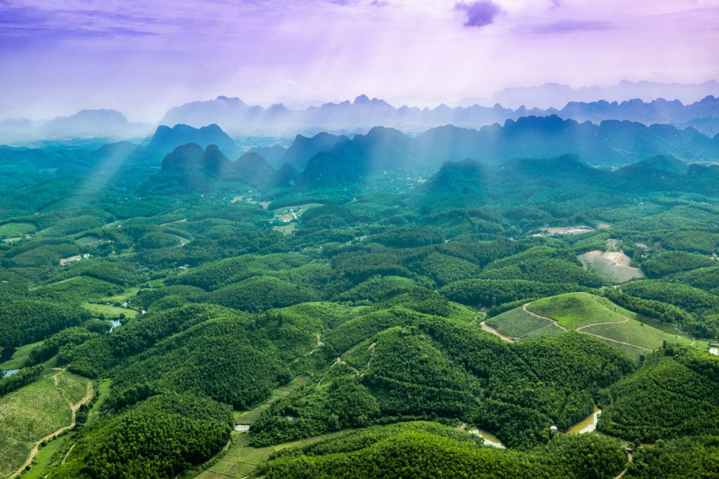 Trang An Landschaft