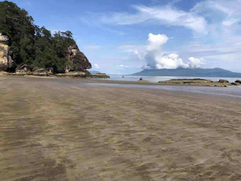 Malaysia Bako Nationalpark Strand