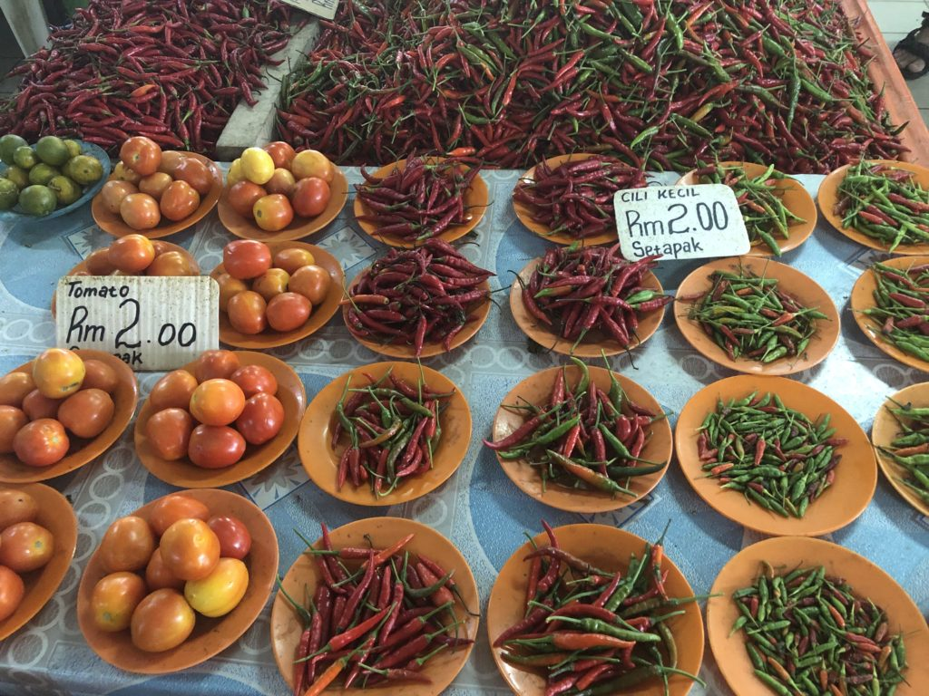 Malaysia Kota Kinabalu Markt