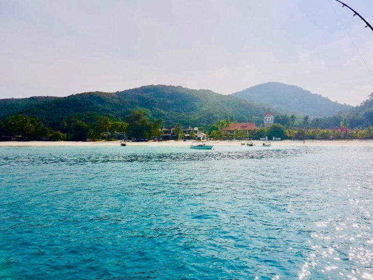 Perhentians Strand vom Meer