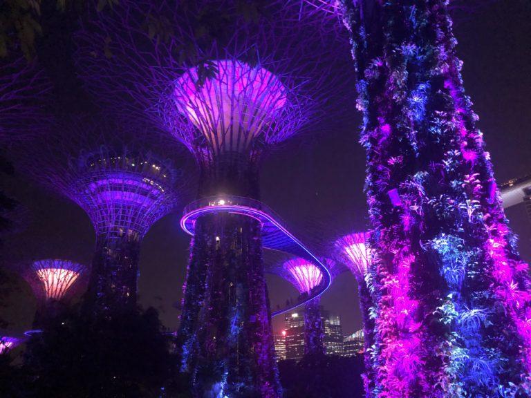 Singapur Supertrees