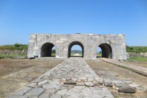Zitadelle der Ho Dynastie Tor
